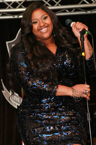 Jazmine Sullivan performed at the BET Music Matters Grammy Showcase at H.O.M.E. on February 6, 2015 in Beverly Hills