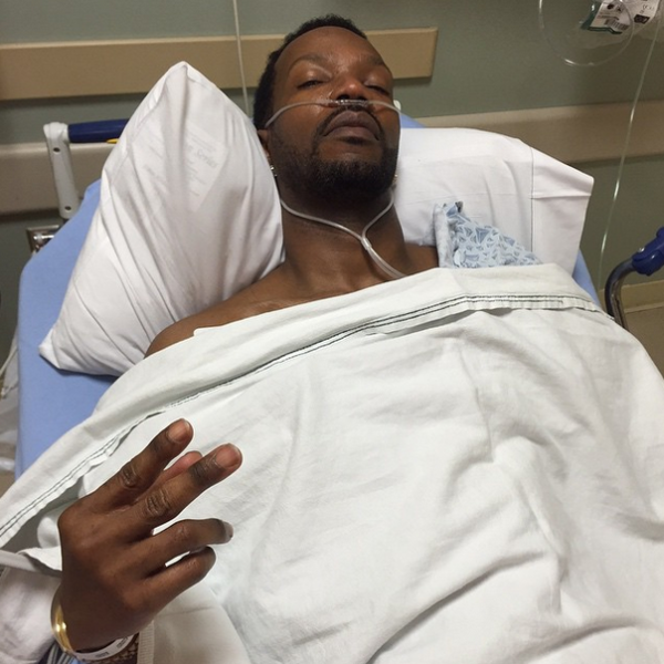 Juicy J sends fans photo and words of encouragement about tour.
