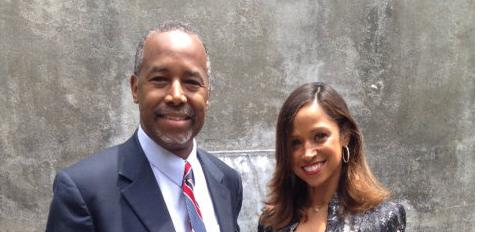 Dr Ben Carson L And Stacey Dash R