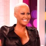 Amber Rose Mulls Enhancement to her 36H Breasts (Watch)