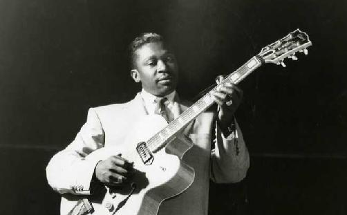 bb king with lucille