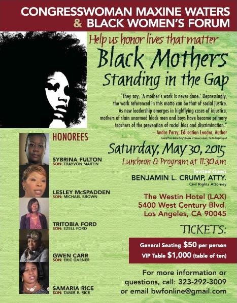 black mothers standing in the gap