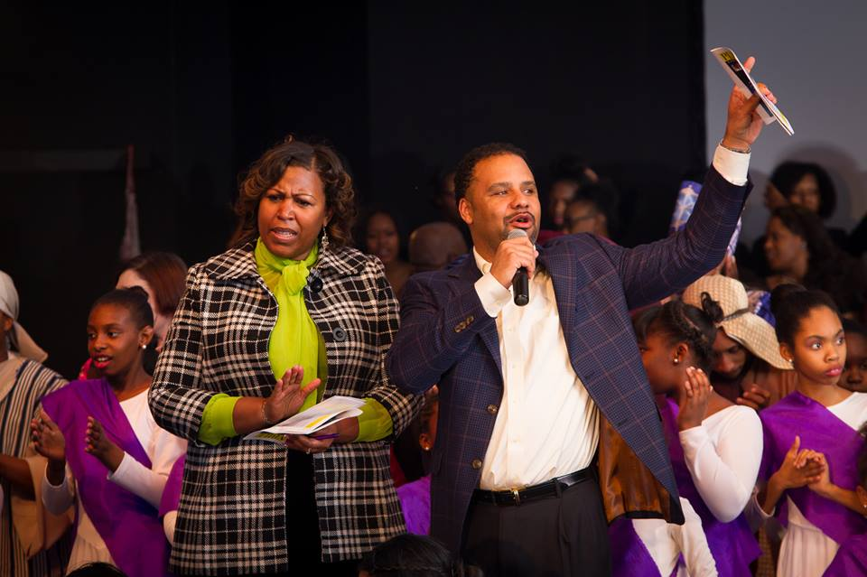 Pastors Mona and Don Brawley of Canaan Land International Church in Snellville, GA
