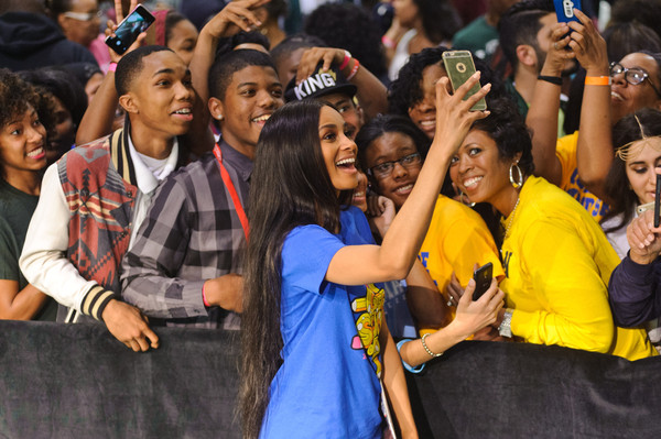 Singer/songwriter/actress Ciara attends the First-Ever Citywide College Signing Day With Get Schooled And Detroit College Access Network As Part Of The First Lady's Reach Higher Initiative at Wayne State University on May 1, 2015 in Detroit, Michigan