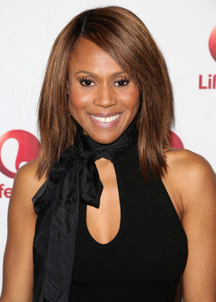 Singer/songwriter Deborah Cox attends the Lifetime Network sponsored breakfast for 'Whitney' during the 2015 Winter Television Critics Association press tour at the Langham Hotel on January 8, 2015 in Pasadena, California