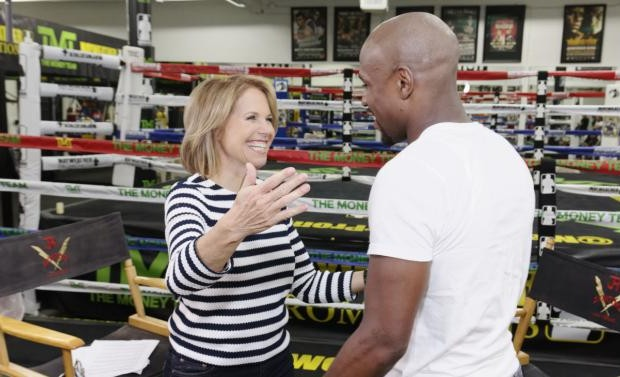 floyd mayweather and katie couric