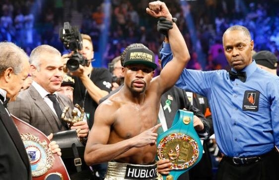 floyd mayweather (win over manny pacquiao)