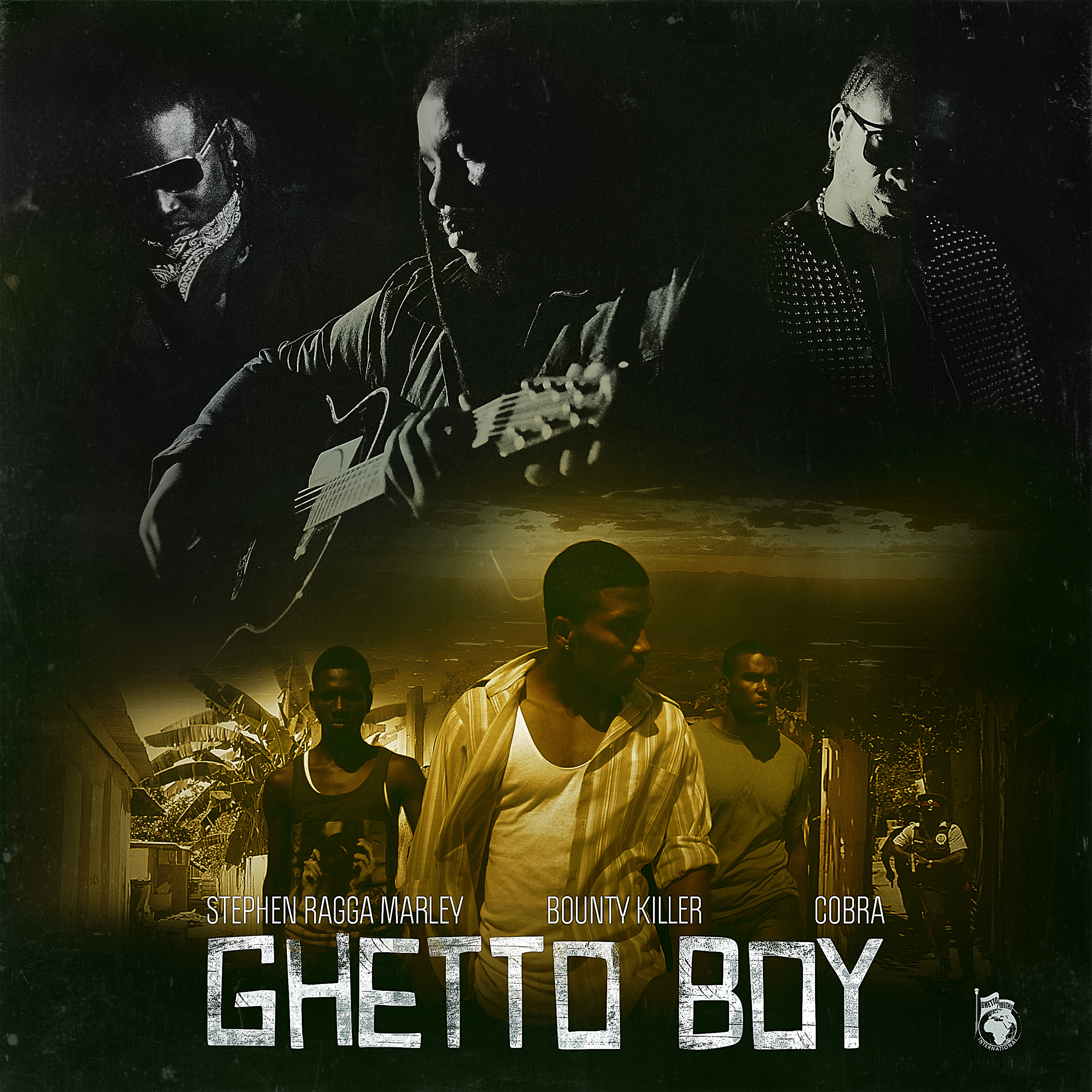 stephen 'ragga' marley, ghetto boy, bounty killer & cobra