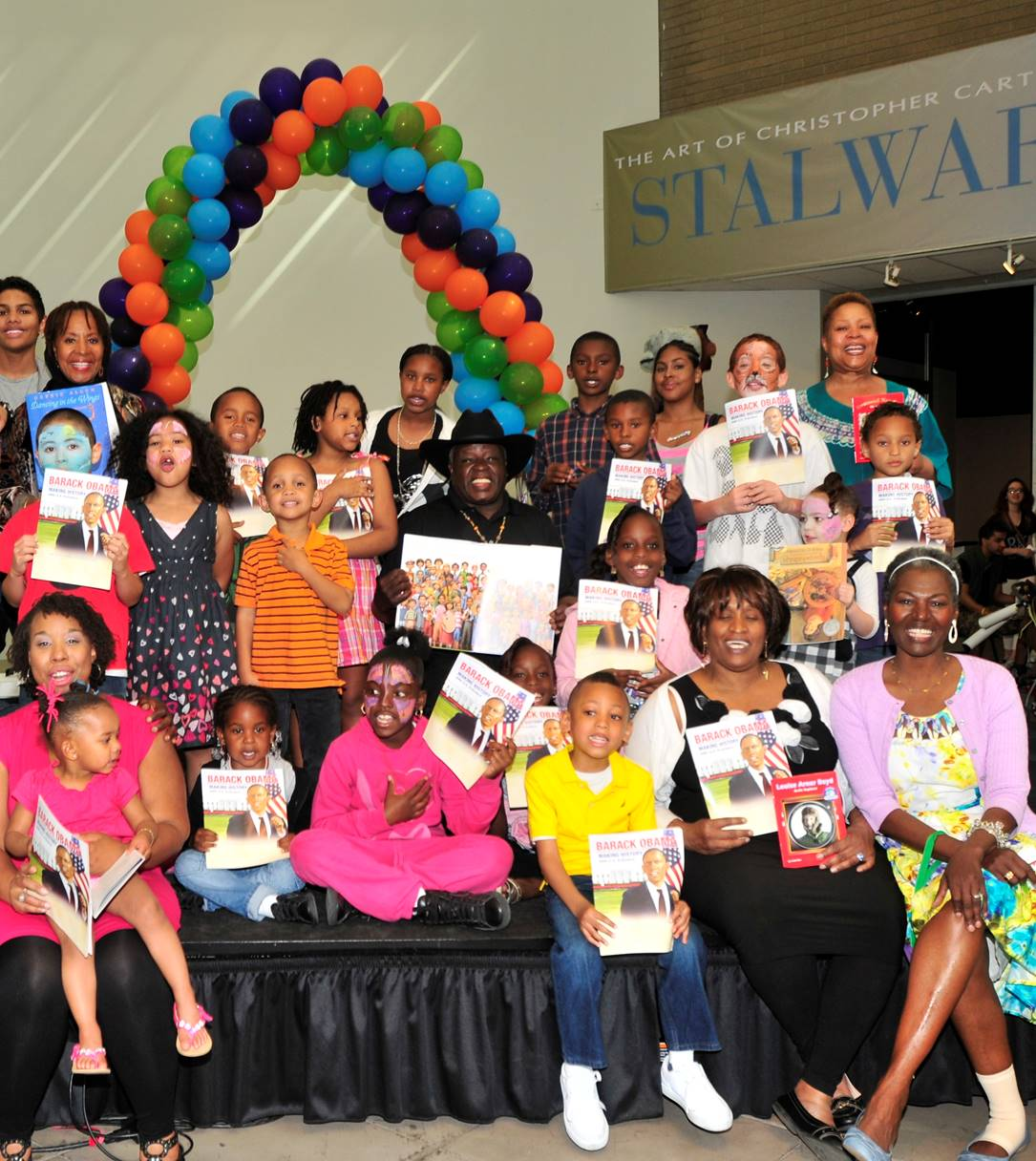 heads are turning children are learning, caam, national children's book week