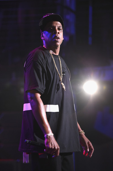 Jay-Z performs during TIDAL X: Jay-Z B-sides in NYC on May 16, 2015 in New York City.