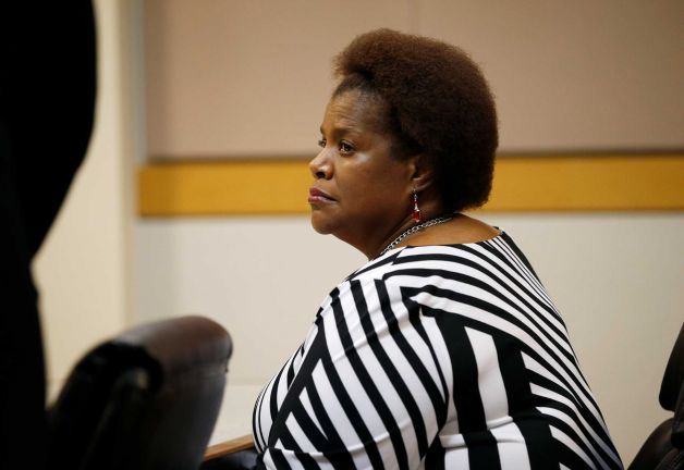 Karen Williams, daughter of B.B. King, sits in Clark County Family Court Thursday, May 7, 2015, in Las Vegas.