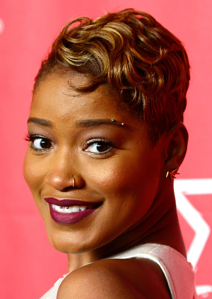 keke palmer (short hair)