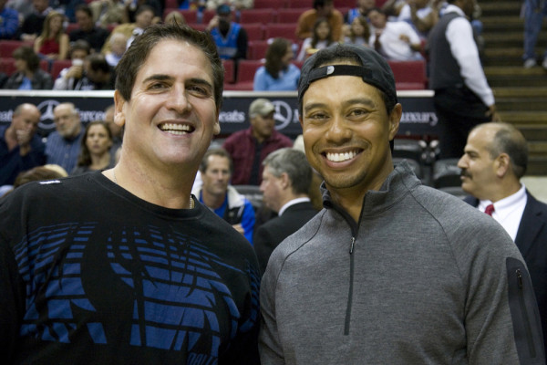 mark cuban and tiger woods