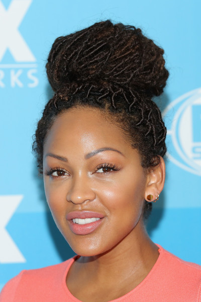 Actress Meagan Good attends the 2015 FOX programming presentation at Wollman Rink in Central Park on May 11, 2015 in New York City