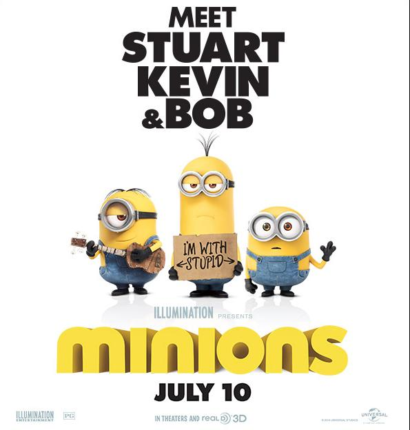 Minions In Theatres July 10 (Watch The Trailer) EURweb
