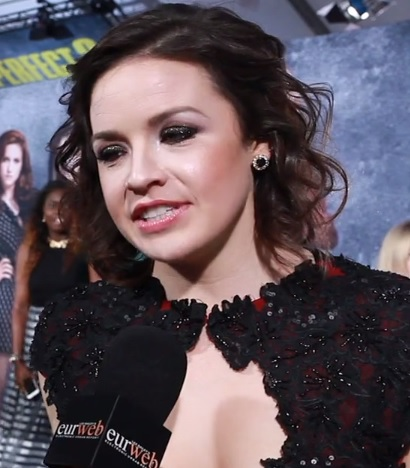 Shelley Regner at 'Pitch Perfect 2' premiere