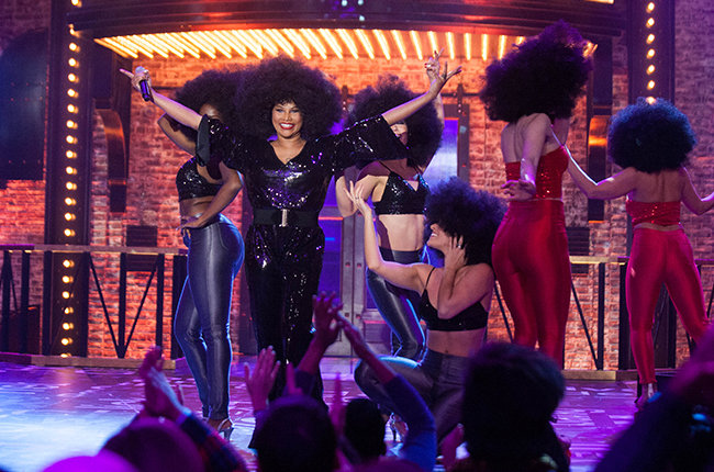 Lip Sync Battle on January 21, 2015 with Salt N' Pepa.