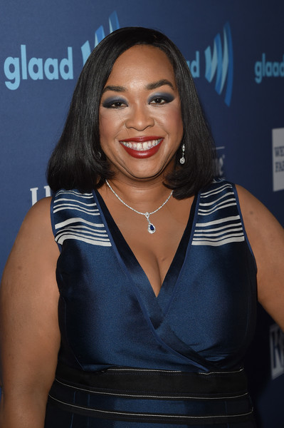 Writer Shonda Rhimes attends the 26th Annual GLAAD Media Awards at The Beverly Hilton Hotel on March 21, 2015 in Beverly Hills, California