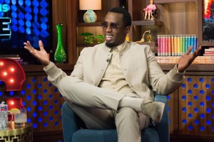 "WATCH WHAT HAPPENS LIVE -- Episode 12084 -- Pictured: Sean ""Diddy"" Combs -- (Photo by: Charles Sykes/Bravo)"