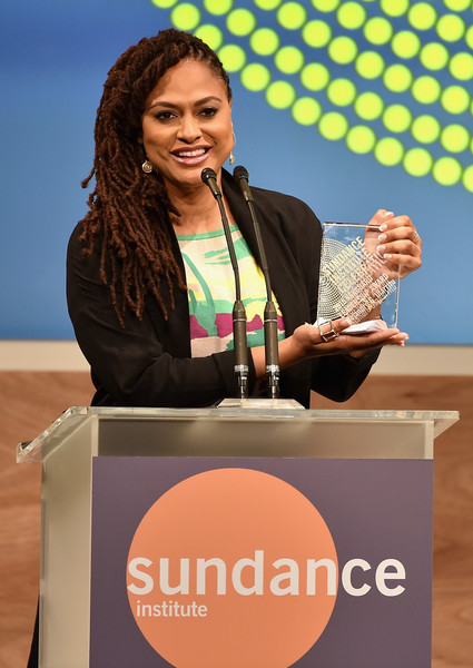 Director Ava DuVernay speaks onstage at the 2015 Sundance Institute Celebration Benefit at 3LABS on June 2, 2015 in Culver City, California