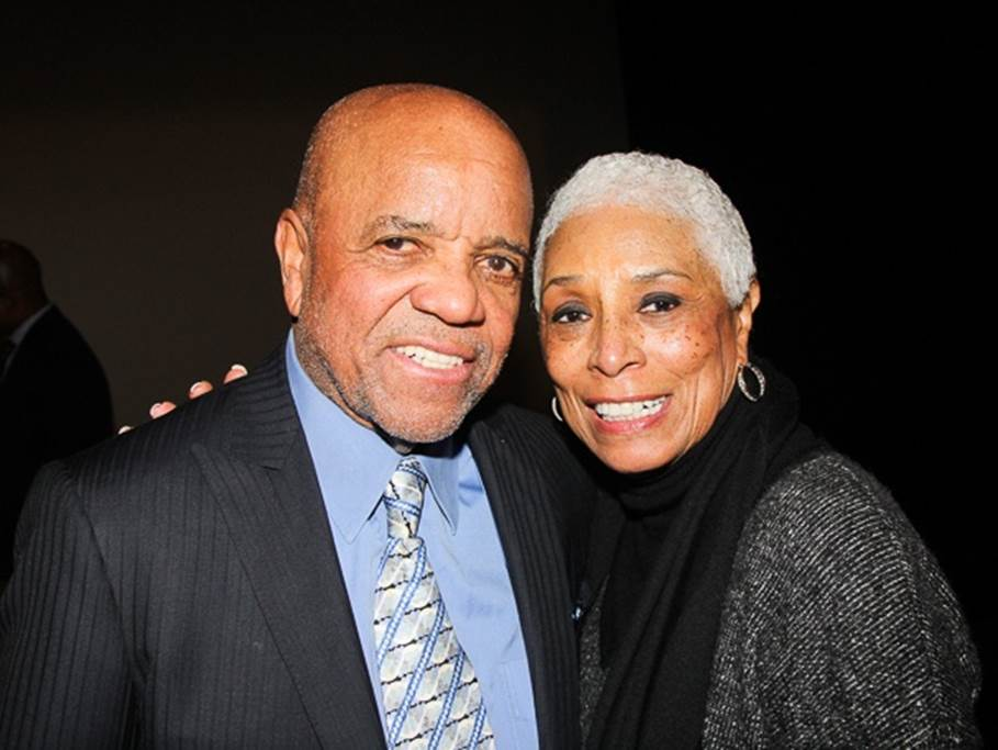 Motown founder Berry Gordy and the late Edna Anderson-Owens, Co-CEO/Co-Chairman of TGC Management, LLC