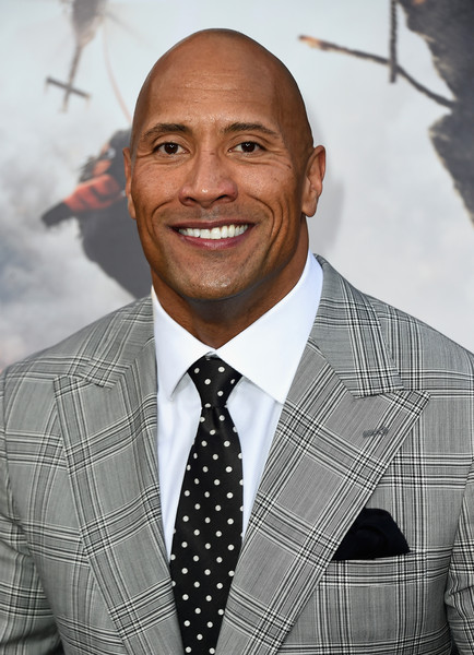"Actor Dwayne 'The Rock' Johnson attends the Premiere Of Warner Bros. Pictures' ""San Andreas"" at TCL Chinese Theatre on May 26, 2015 in Hollywood, California"