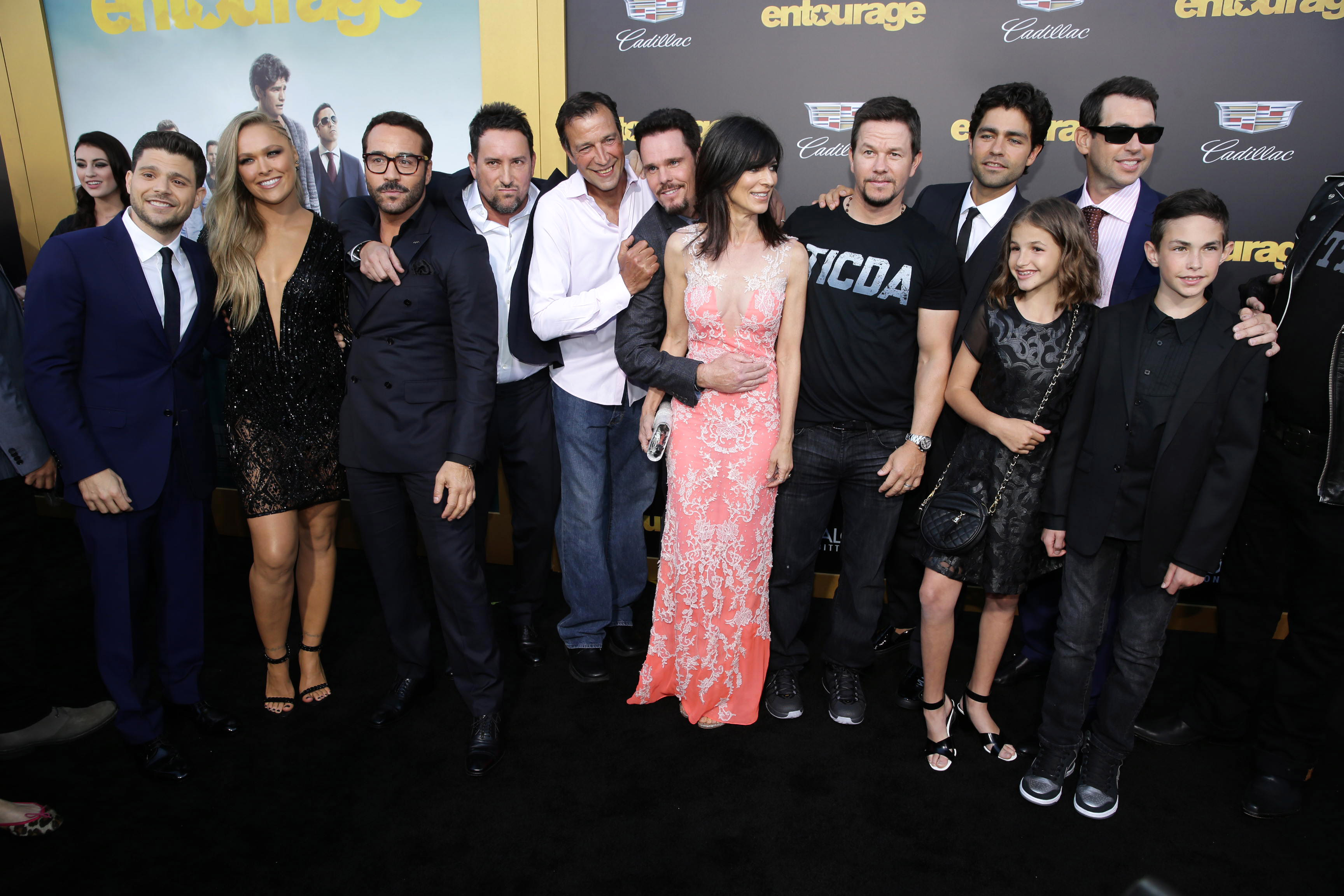entourage cast and crew
