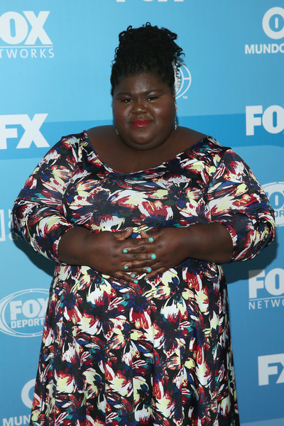 Actress Gabourey Sidibe attends the 2015 FOX programming presentation at Wollman Rink in Central Park on May 11, 2015 in New York City