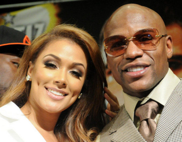 Happier times for Floyd Mayweather and Shantel Jackson