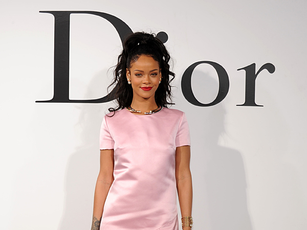 Rihanna attends the Christian Dior Cruise 2015 Show on May 7, 2014 in Brooklyn, New York City.  (Photo by Bryan Bedder/Getty Images for Christian Dior)