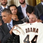 Obama Hosts San Francisco Giants for 3rd Time During Presidency