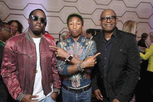 Diddy Pharrell, Forest Whitaker