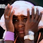 Serena Still Sick as a Dog Day Before French Open Final