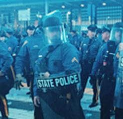 hot 97 riot police