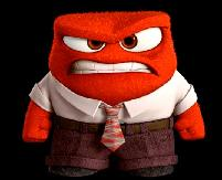 inside out - red-mad guy