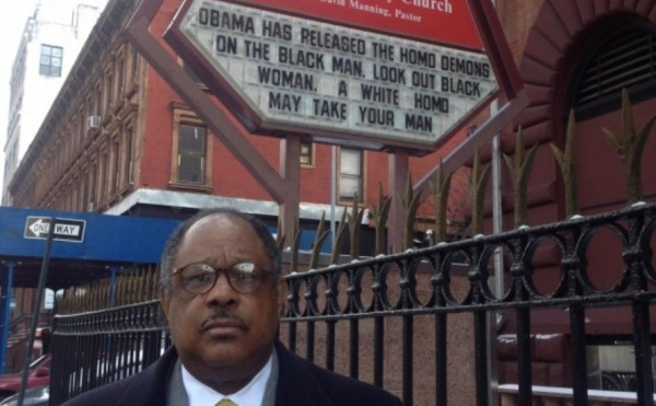 Pastor manning obama is a homosexual relationship