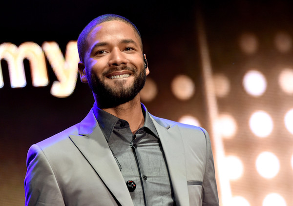 """Actor/singer Jussie Smollett performs at the Television Academy event for Fox Tv's """"Empire"""" - A Performance Under The Stars at The Grove on May 28, 2015 in Los Angeles, California"""