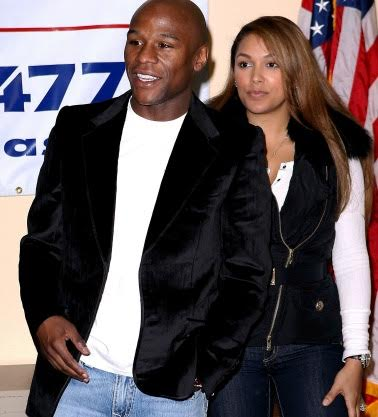 Floyd Mayweather Jr. and Shantel Jackson in 2012. Credit: WENN
