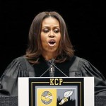 Michelle Obama to Chicago Grads: 'You Have More Scars Than They Do'