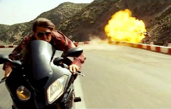 missionimpossible - cruise on motorcycle