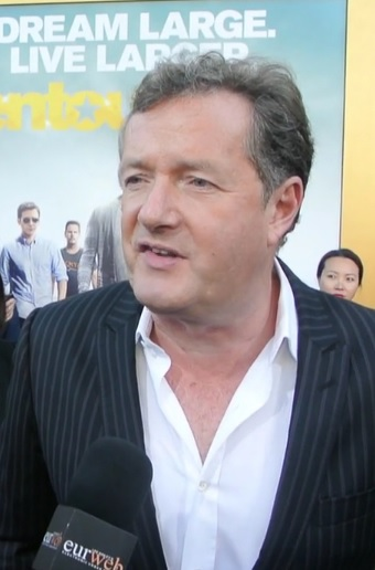 "Piers Morgan at ""Entourage"" premiere"