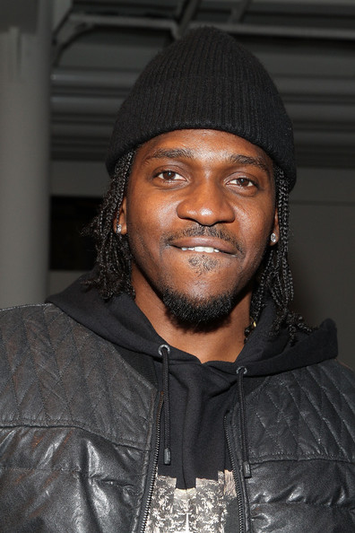 Pusha T attends the Tim Coppens fashion show during MADE Fashion Week Fall 2014 at Milk Studios on February 9, 2014 in New York City