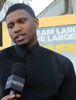 Rudy Gay at 'Entourage' premiere