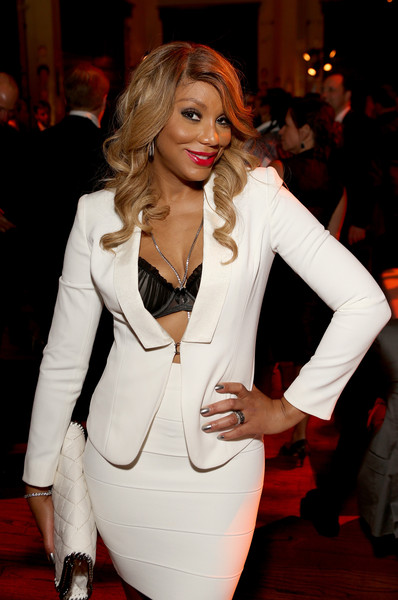 Singer Tamar Braxton attends the Sony Music Entertainment 2015 Post-Grammy Reception at The Palm on February 8, 2015 in Los Angeles