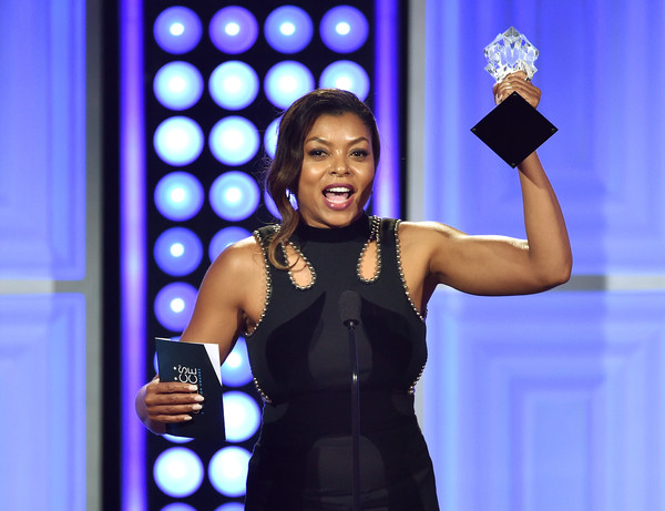 "Actress Taraji P. Henson accepts the Best Actress in a Drama Series award for ""Empire"" onstage at the 5th Annual Critics' Choice Television Awards at The Beverly Hilton Hotel on May 31, 2015 in Beverly Hills"