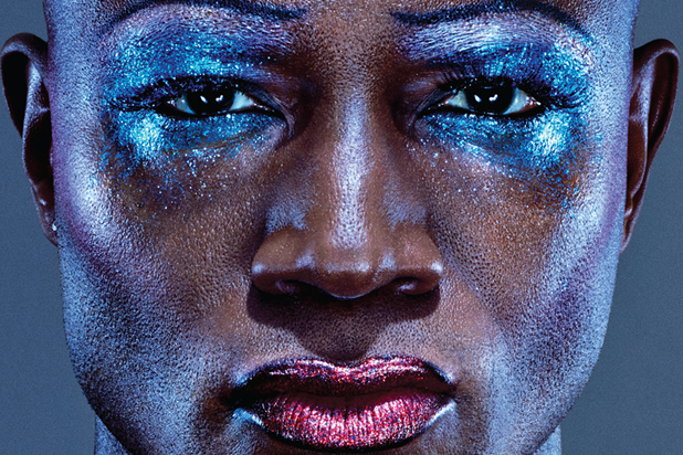 """Taye Diggs as Hedwig in Broadway's """"Hedwig and the Angry Inch"""""""