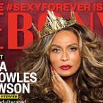 Tina Knowles Lawson Wears the Crown On Ebony Cover (Pics)