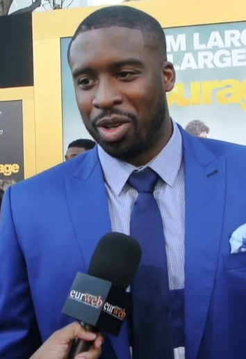 Wesley Matthews at 'Entourage' premiere