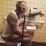 The Game Posts Photo of Himself Rapping While Crapping
