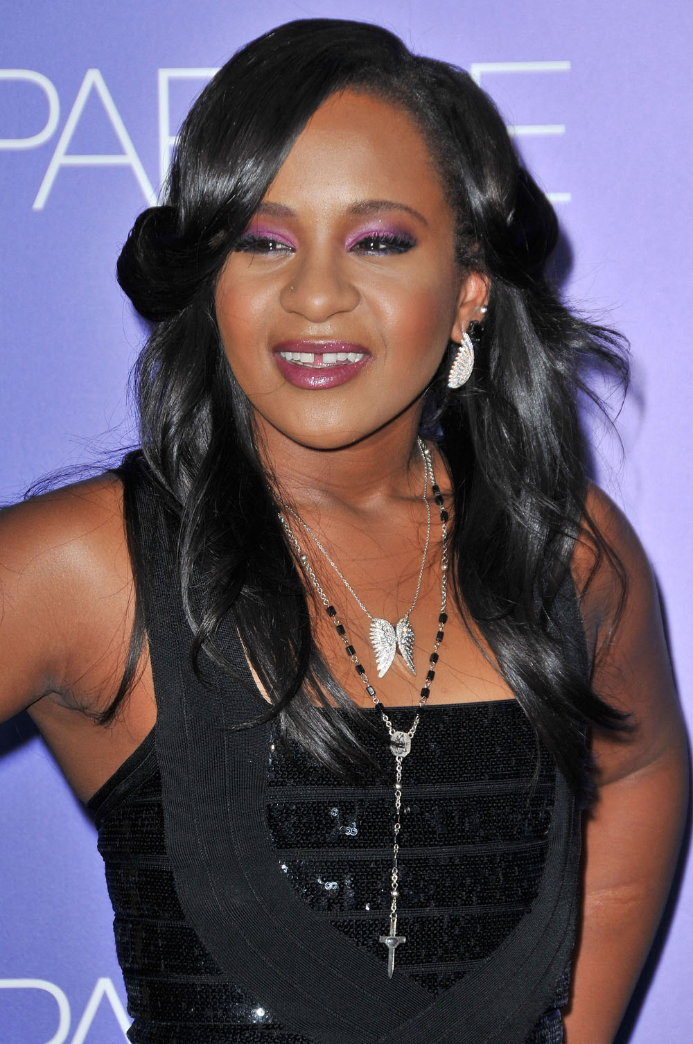Bobbi Kristina Brown at the World Premiere of SPARKLE, August 16, 2012 at the Grauman's Chinese Theatre, Hollywood, California. Photo Credit Sue Schneider_MGP Agency